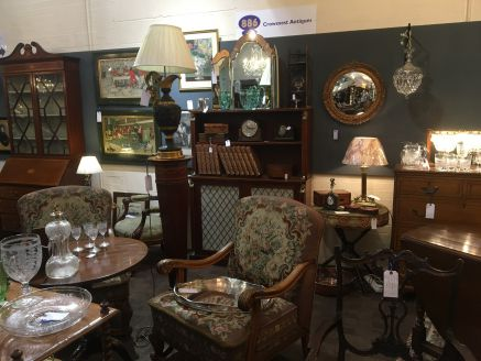 Crowsnest Antiques at Hemswell The Guardroom
